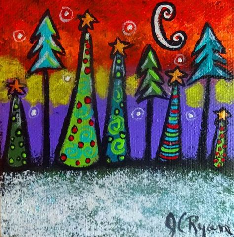 christmas papercraft projects for ks2 10 images about canvas ideas on santa whimsical trees and
