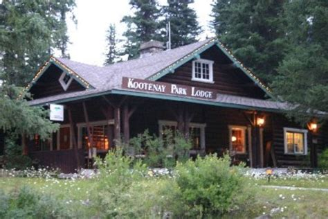 Dining Rooms Direct by Kootenay Park Lodge In Kootenay National Park Canada