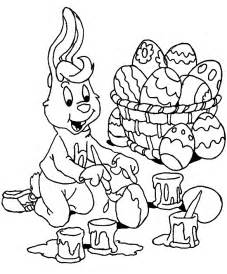 Galerry coloring pages to print for easter