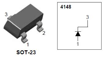 4148 sot 23 diode 1n4148 smd diode datasheet 28 images 1n4148 series smd smt diodes general purpose power