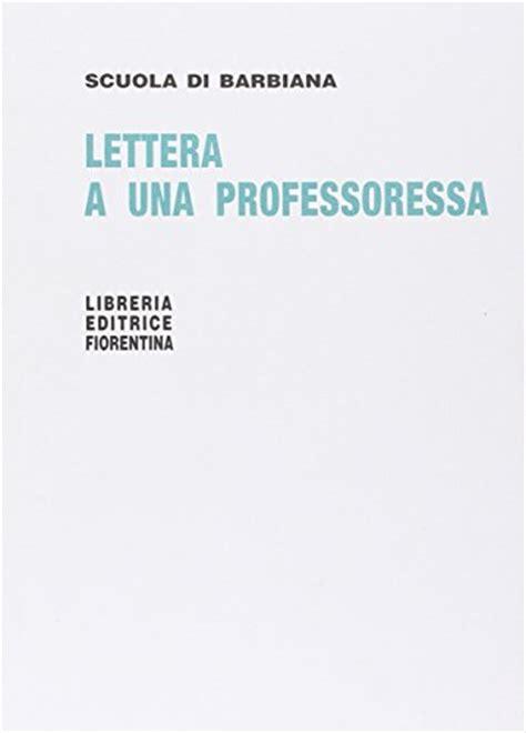 lettere a una professoressa pdf libri pdf scaricabili lettera a una professoressa