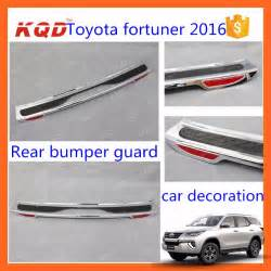 Car Covers Thailand Car Rear Bumper Protector Toyota Fortuner Bumper