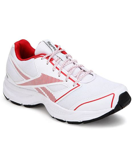 city sports shoes reebok city runner lp white sports shoes price in india
