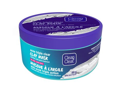 clean clear acne triple clear clay mask reviews  face