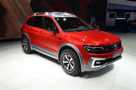 volkswagen tiguan 2016 red detroit 2016 volkswagen tiguan gte concept gtspirit