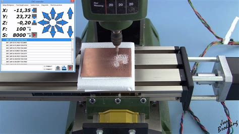tutorial video cutter pcb milling tutorial with a proxxon mf 70 cnc milling