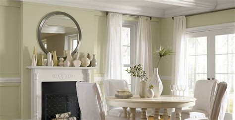 Green dining room paint colors
