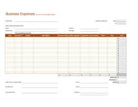 expenses templates best photos of editable monthly business expenses template