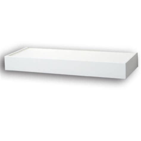 24 quot white floating shelf at menards 174