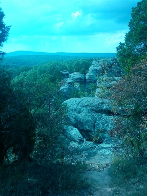 Garden Of The Gods Illinois Cing by The Garden Of The Gods Shawnee National Forest So Il