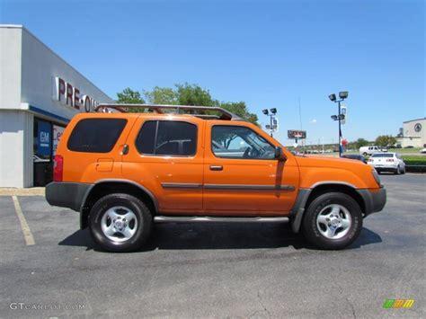 2003 atomic orange nissan xterra xe v6 4x4 48866942 photo 8 gtcarlot car color galleries
