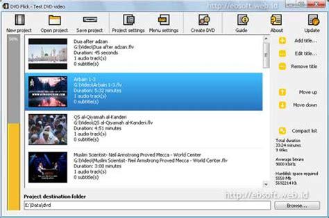 cara format dvd kosong cara burn file video ke format dvd agar bisa diputar di