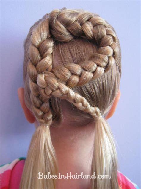 tutorial kepangan unik kepangan rambut alfabet yang atraktif untuk anak anak