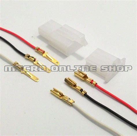 Kabel Socket Panjang 15cm 3 Pin jual socket 3 pin kecil skun soket motor konektor