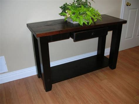 Black Sofa Table With Drawers Furniture Of America Cosbin Sofa Table Desk