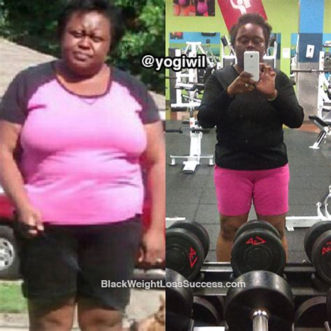 yolanda 21 day challenge yolanda lost 67 pounds black weight loss success
