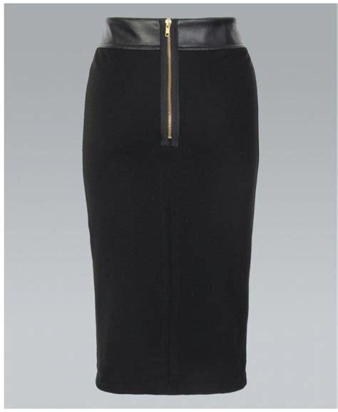 krispwoman pu black pencil skirt krispwoman from krisp