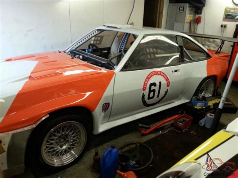 opel rally car opel manta 400 thunder saloon race rally car