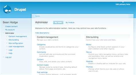 drupal themes administration create a killer band site in drupal part 5 drupal