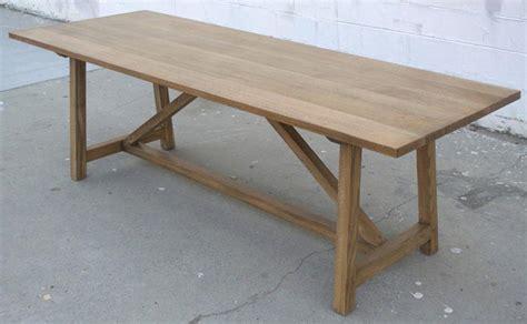 White Oak Table by Custom Dining Table In Rift White Oak For Sale At 1stdibs