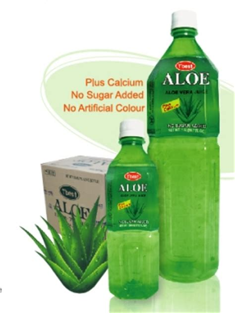 Gu Chee Guava Lychee Liquid aloe vera drink tulip international inc