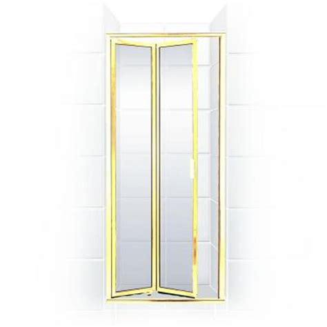 24 Glass Shower Door Coastal Shower Doors Paragon Series 24 In X 71 In Framed Bi Fold Hinged Shower Door In
