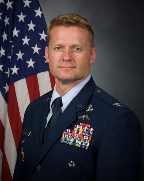 colonel eric d gt air special operations command