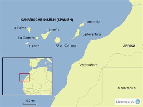 wo liegen die kanaren kanarische inseln el hierro fotoredaktion landkarte
