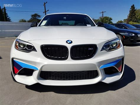 bmw m performance parts alpine white bmw m2 gets decked out with m performance parts