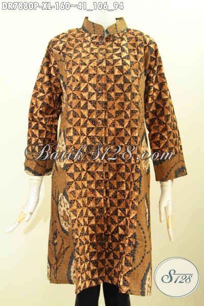 Pakaian Terusan Wanita Grey Print Dress Size L 416967 baju baitk wanita size xl dress batik halus mewah harga