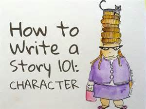how to write a story 101 character