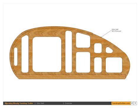 Teardrop Trailer Plans Free wyoming woody tkkkeardrop trailer plans 09 teardrop builder