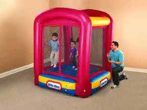 little tikes inflatable bounce house little tikes bounce house troline enclosed bounce toddlers inflatable house ebay