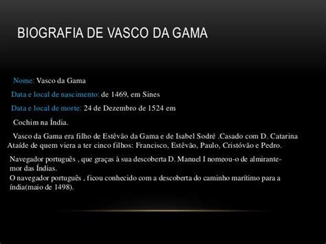 vasco biografia biografia de vasco da gama