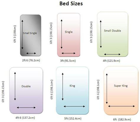 Size Of Mattress Vs by A Bed Size For Every Purpose Carpetright Info Centre