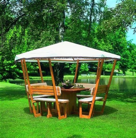 tonnelle en bois syma mobilier jardin kiosque en bois