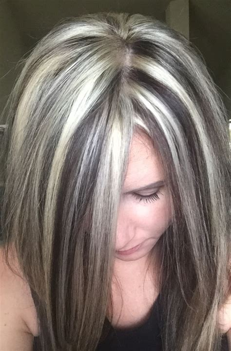 white low lights for grey hair 25 unique heavy highlights ideas on pinterest ash