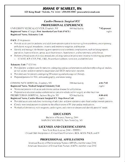 Cardiac Icu Sle Resume by Cath Lab Resume 28 Images Resume Sles Cath Lab Technician Resume Sle My World As A On