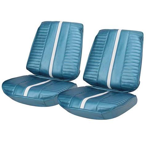 seat upholstery kit pui 67xs14u seat upholstery kit 1967 chevy ii blue