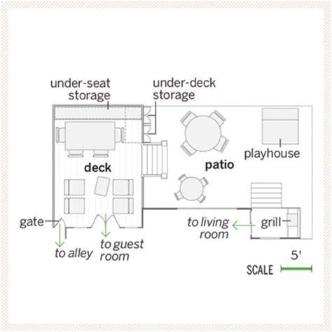 patio floor plan a stepped up deck floor plan with deck and patio a