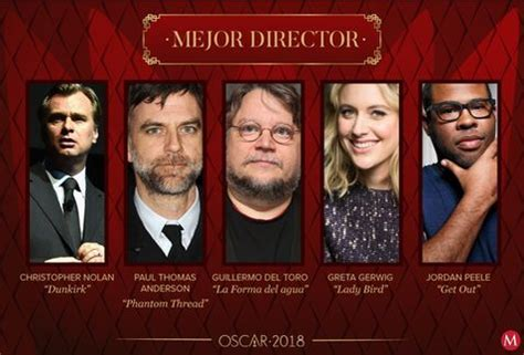 Nominados Al Oscar 2018 Esta Es La Lista Completa Alto Nivel Ellos Los Directores Nominados Al Oscar 2018 Grupo Milenio