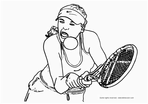 Tennis Coloring Pages Bestofcoloring Com Tennis Coloring Pages