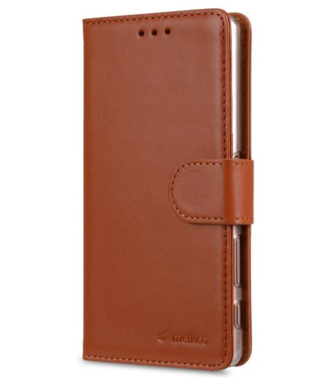 Melkco Premium Leather Wallet With Card Slot Sony Xperia Z sony xperia x performance mobile cases cellphone