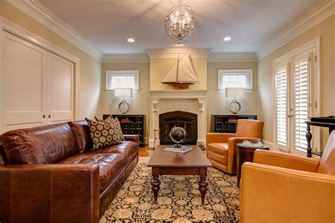 tips  decorate brown leather sofa  house