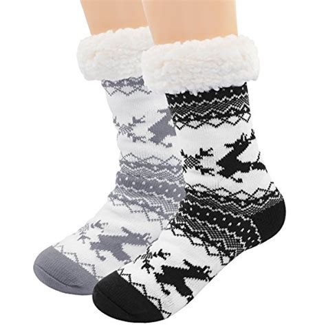 Terbatas Hengsong Chic Womens Snow Boots Winter Warm Flat Casual Shoes cozy slippers socks store great selection discount prices on slippers socks