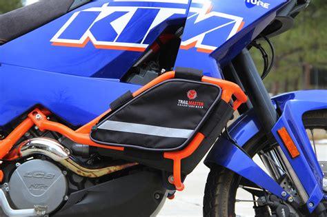 Ktm 990 Adventure Crash Bars Adventure Crash Bar Bags For Ktm 950 990 By Trailmaster