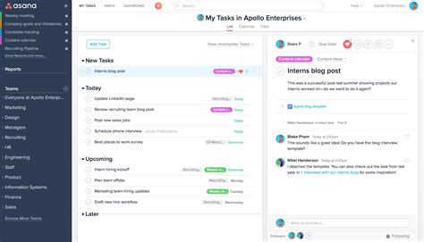 Asana Vs Basec Which One Is Right For Your Team 183 Asana Asana Template Exles