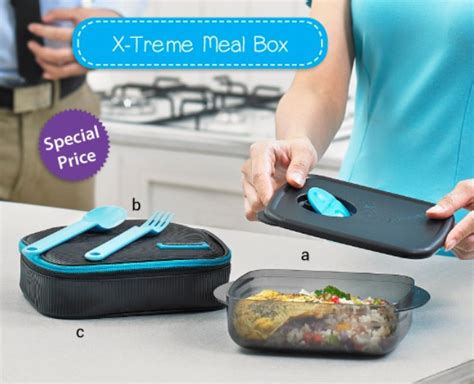 Kotak Makan X Treme jual tupperware x treme mealbox wadah bekal ke kantor