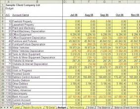 financial management reporting system excel template for