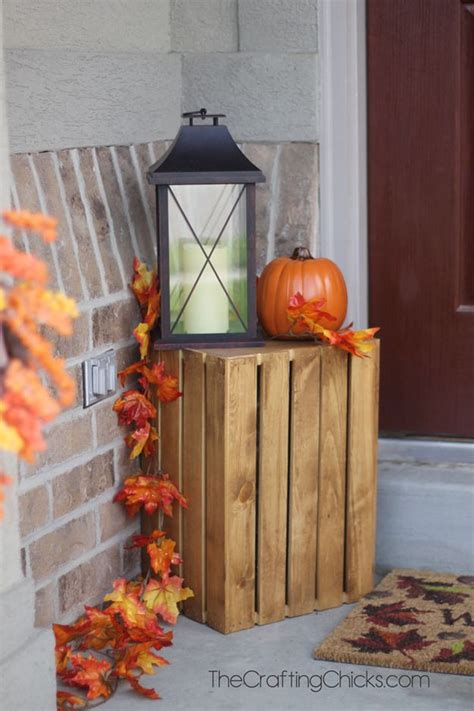 outdoor fall decorating ideas to kick off the holiday